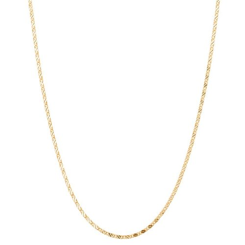 Club Manhattan Schakelketting Long Box Chain Necklace