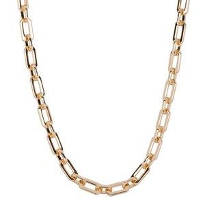 Club Manhattan Schakelketting goud Liv Chain Necklace