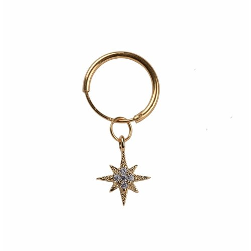 À La One piece oorring Shiny star