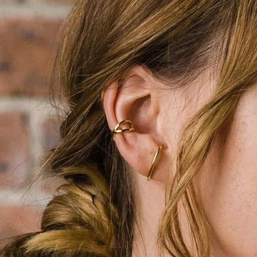 Oh So HIP Suspender oorbellen goud