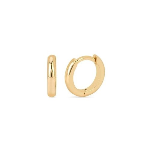 Oh So HIP Basic Huggie Hoops gold plated