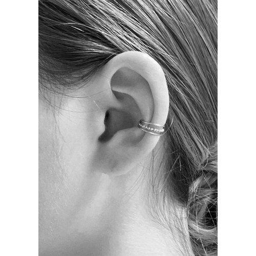 Oh So HIP Triple ear cuff 925 zilver