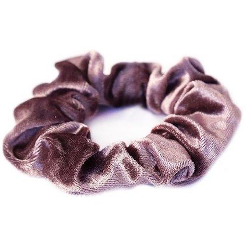 Oh So HIP Velvet scrunchie pale