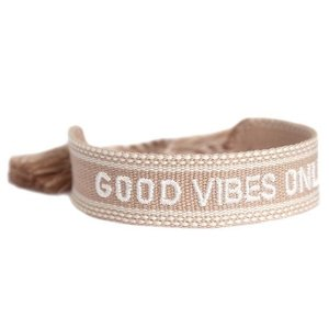 Love Ibiza Armbandje Good vibes only