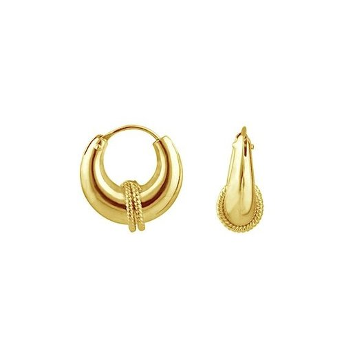 Oh So HIP Bali hoops goud