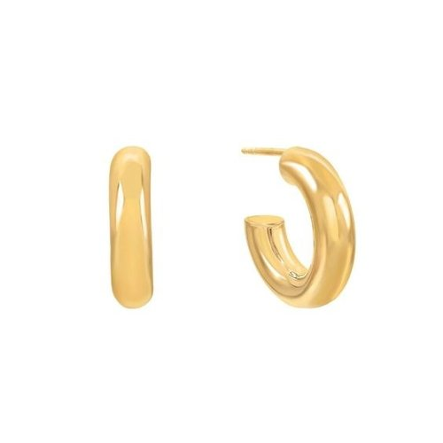 Oh So HIP Chunky hoops goud