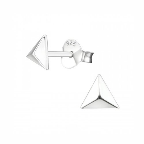 Oh So HIP Triangle studs zilver