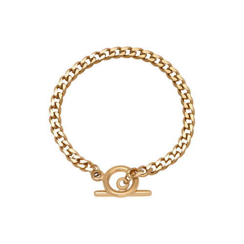 Oh So HIP Schakelarmband met slot goud