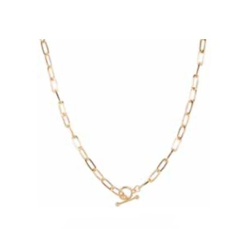 Club Manhattan Schakelketting T Bar necklace
