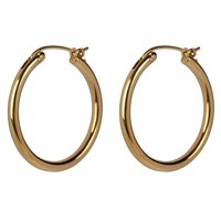 Oorringen Classic hoops 25 mm
