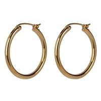 Oorringen Classic hoops 18 mm