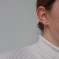 Een ear party met maar 1 piercing