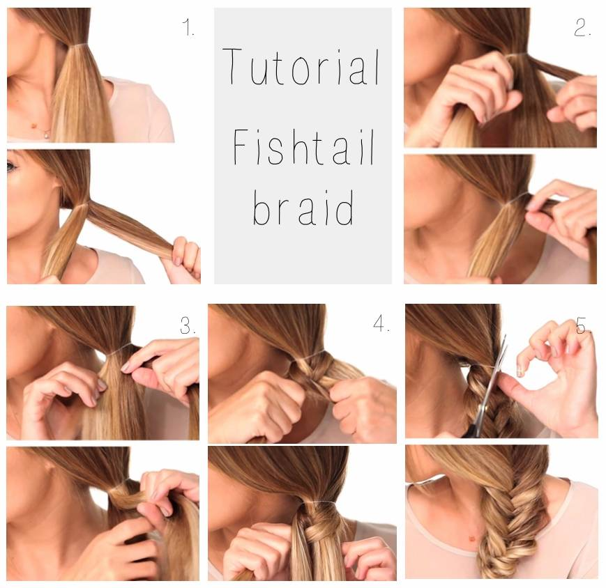 TUTORIAL | Fishtail braid