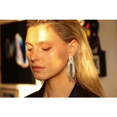 Club Manhattan Chloe Fringe earrings