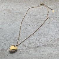 Charlie necklace ketting medaillon