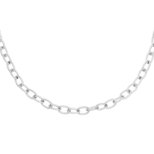 Schakelketting chains zilverkleurig stainless steel