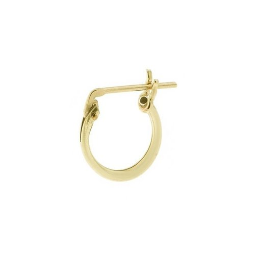 The Two Collectors One piece Lucky hoop gold filled 10 mm