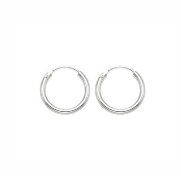 Oh So HIP Mini oorringen zilver 8 mm
