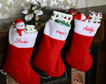 Christmas Stocking (Embroider & Print)