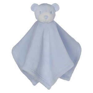 Embroider Buddy Mini Blankey Bear Blue lang