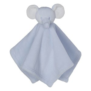 Embroider Buddy Mini Blankey Elephant Blue