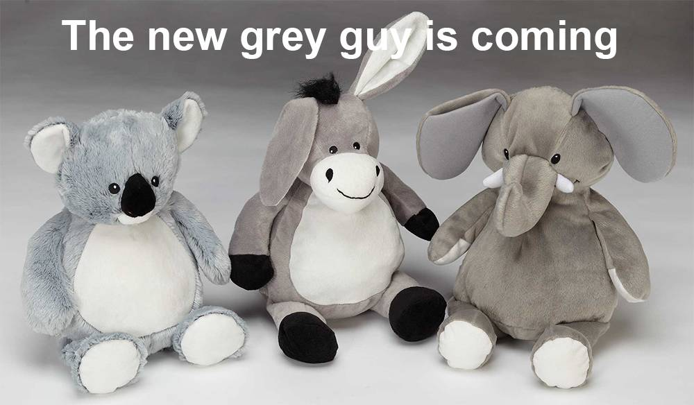 Grey, the new 'it' colour for baby décor