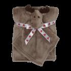 Embroider Buddy Moose Blanket Set