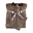 Embroider Buddy Moose Blankey Buddy Set