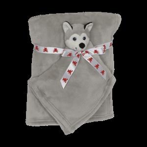Embroider Buddy Husky Blanket Set