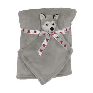 Embroider Buddy Polarhund Kuscheldecke set