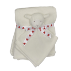 Embroider Buddy Lamb Blanket Set