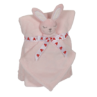 Embroider Buddy Bunny Blankey Buddy Set, Pink