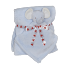 Embroider Buddy Elefant Kuscheldecke set Blau