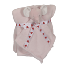 Embroider Buddy Elephant Blanket Set, Pink