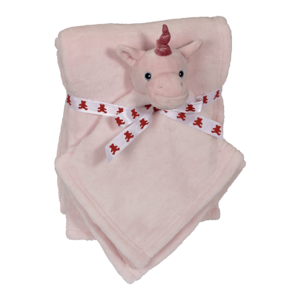 Embroider Buddy Unicorn Blankey Buddy Set