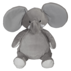 Embroider Buddy Elephant Grey