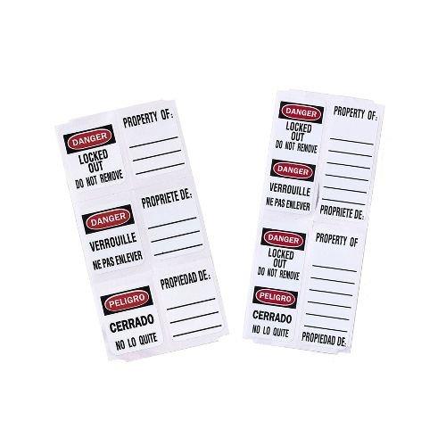 Vorhängeschloss-Etiketten S140