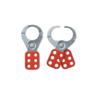 Lockout hasp red, steel 421