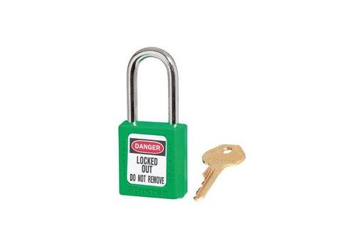 Zenex veiligheidshangslot groen 410GRN