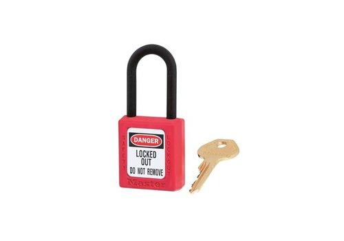 Zenex veiligheidshangslot rood 406RED
