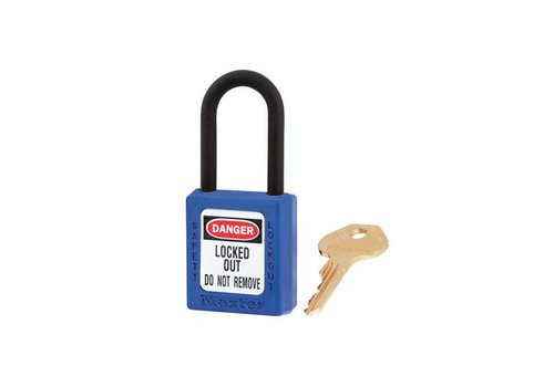 Zenex safety padlock blue 406BLU