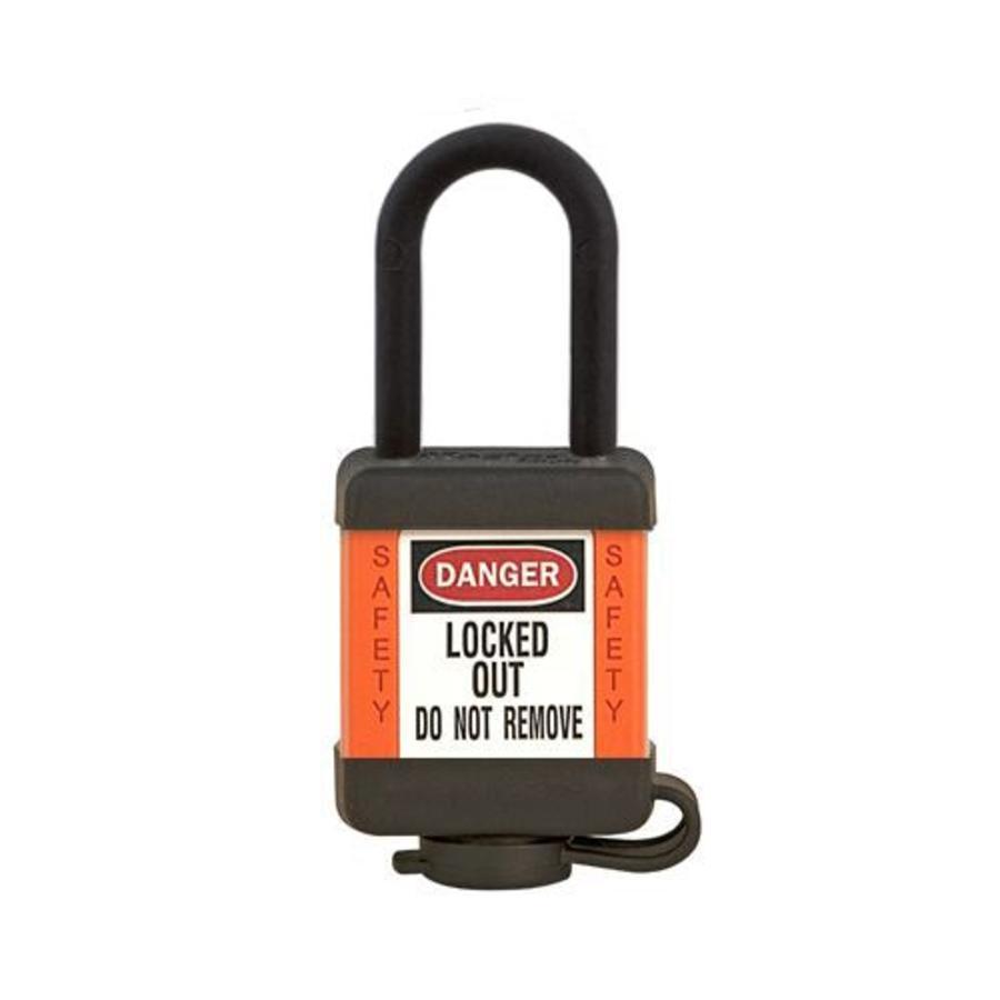 Zenex Sicherheits-vorhängeschloss orange 406ORJ, 406KAORJ