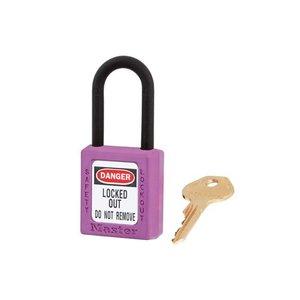 Master Lock Zenex veiligheidshangslot paars 406PRP, 406KAPRP