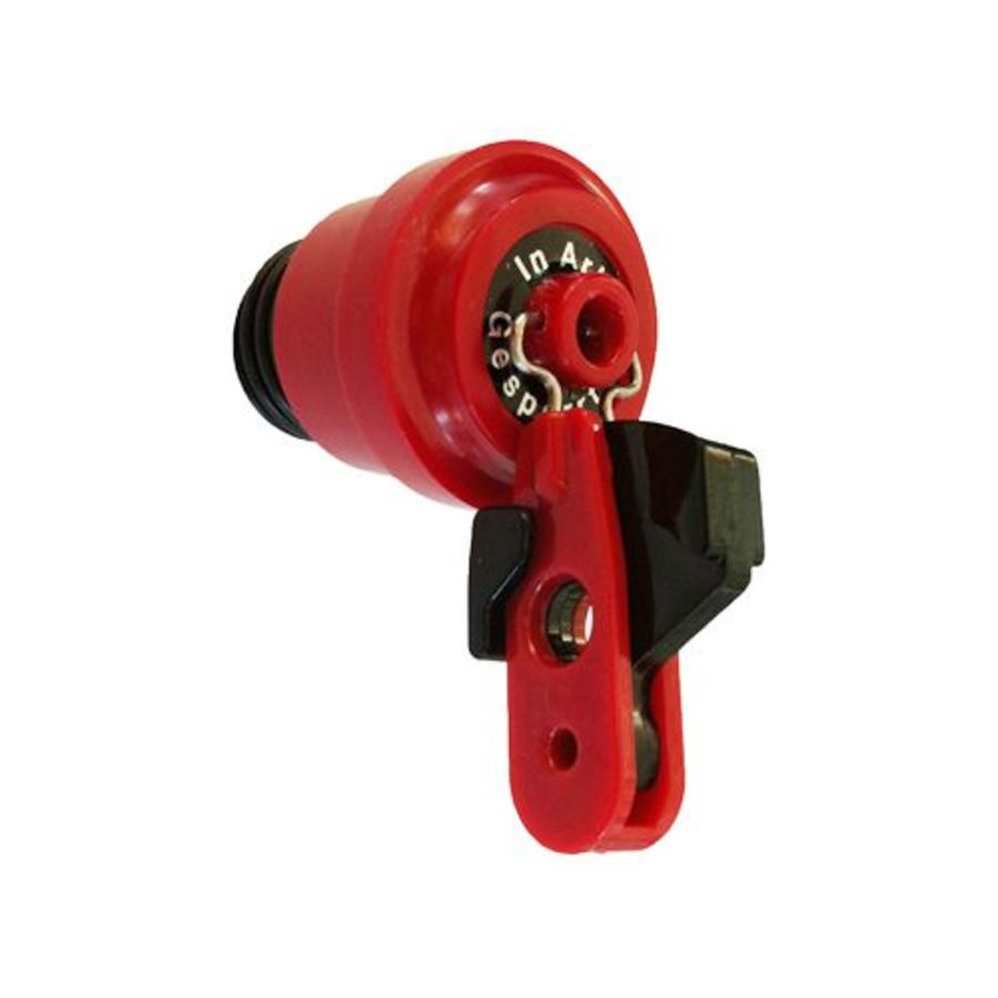 Insulation plugs for fuses incl. padlock adaptor