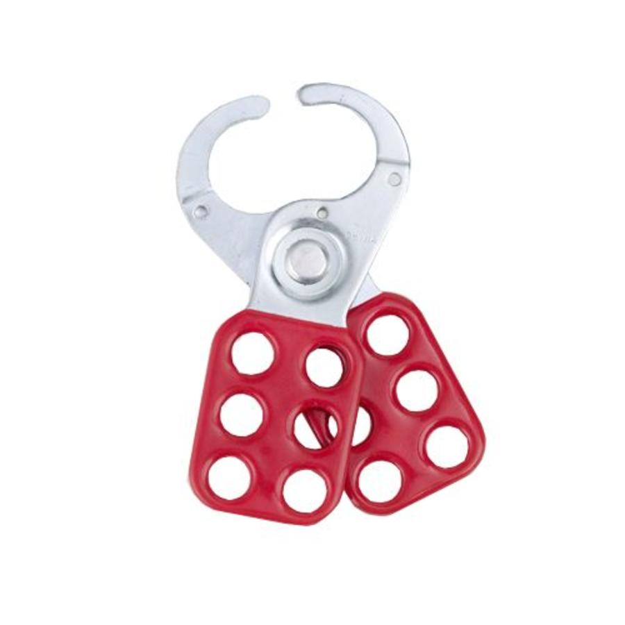 Lockout hasp steel 265375 - Packed by 12 pieces