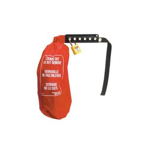 Master Lock Lock-out clinch sack 453