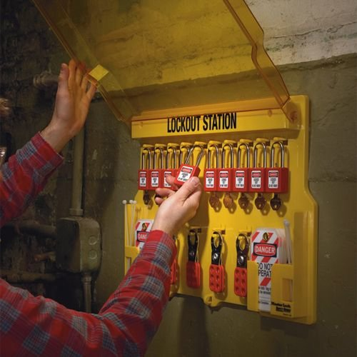 Lockout stations gevuld