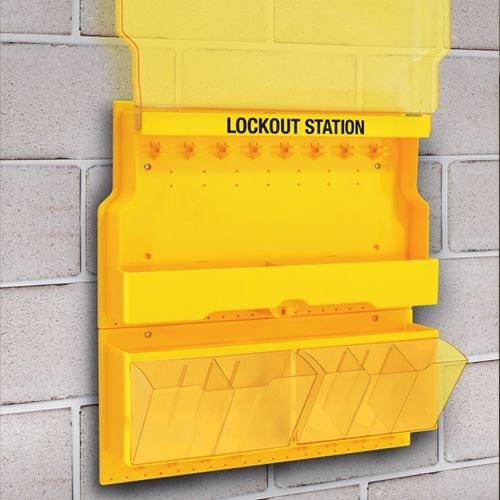 Lockout stations leeg