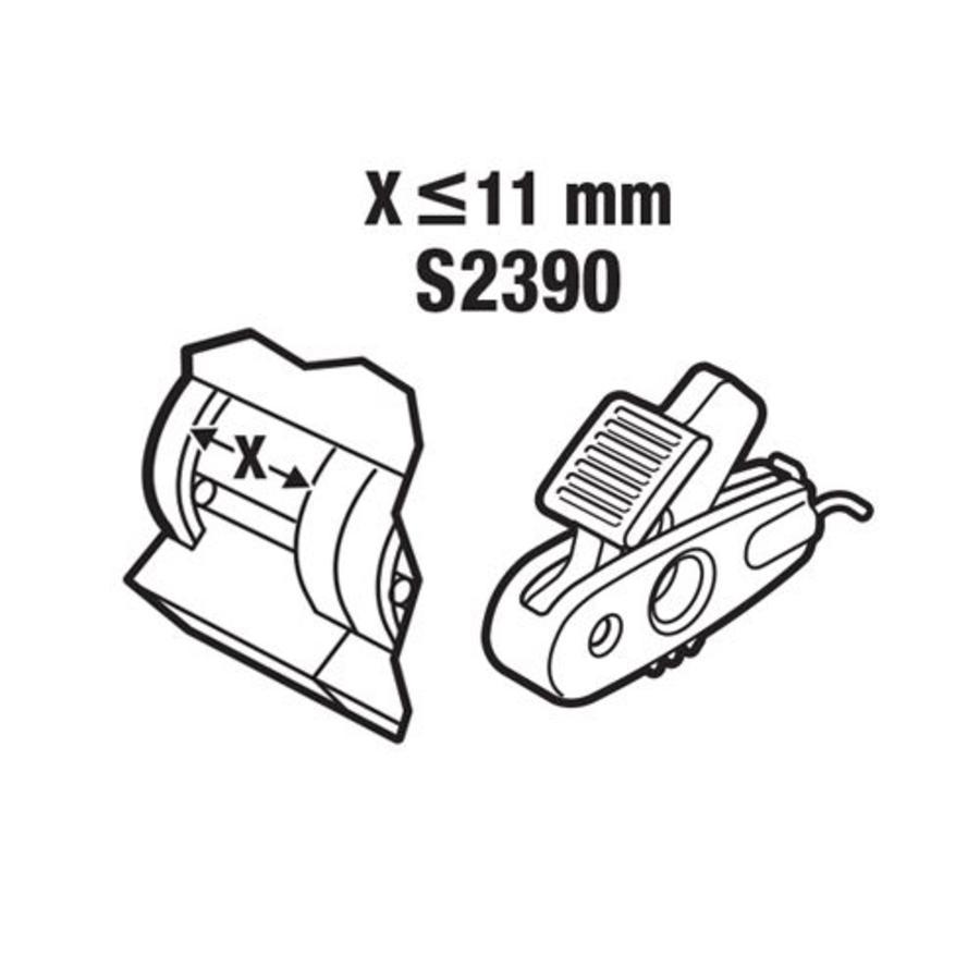 Leitungsschutzschalter-Verriegelung < 11mm S2390