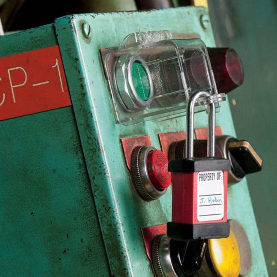 Lock-out for push buttons S2153